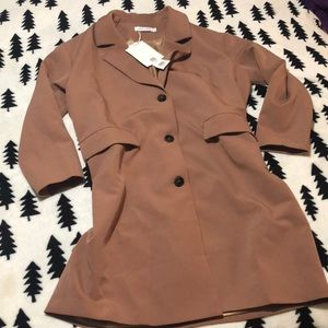 NWT Eternal Summer trench jacket S
